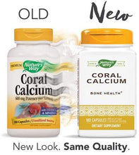 Load image into Gallery viewer, Natures Way Coral Calcium 600 mg 90 Vcaps - CalciumSupreme.com