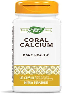 Natures Way Coral Calcium 600 mg 90 Vcaps - CalciumSupreme.com