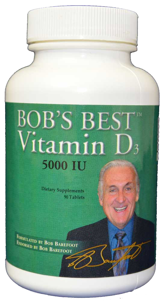 Bob's Best Vitamin D3 5,000 - CalciumSupreme.com