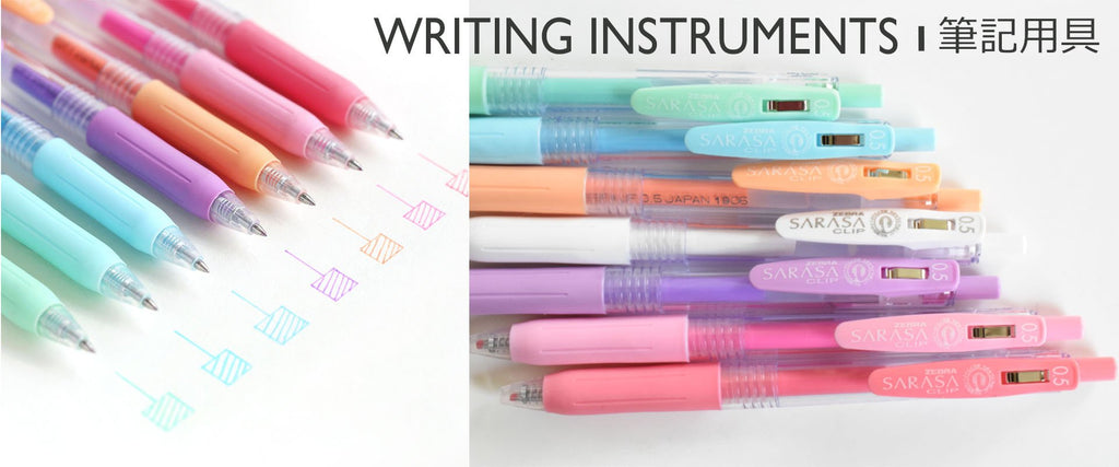 WRITING INSTRUMENTS 筆記用具