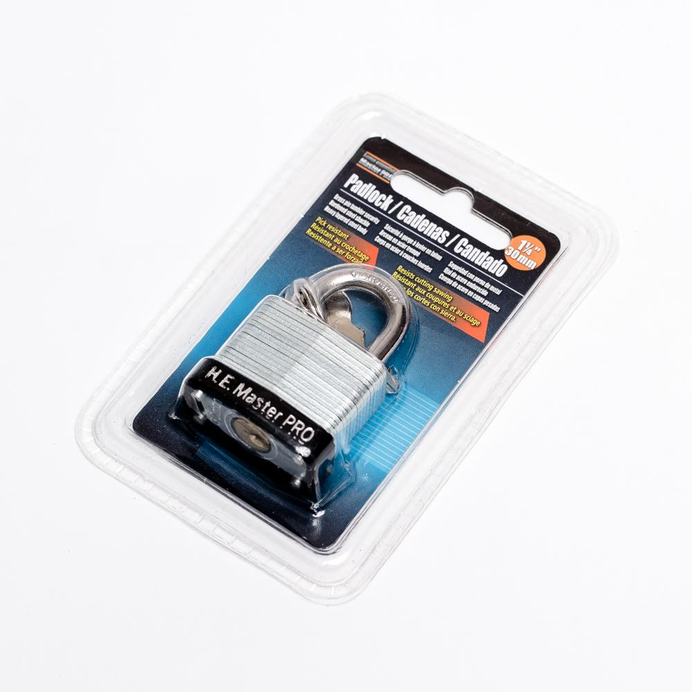 Laminated  Padlock (Luggage Lock)
