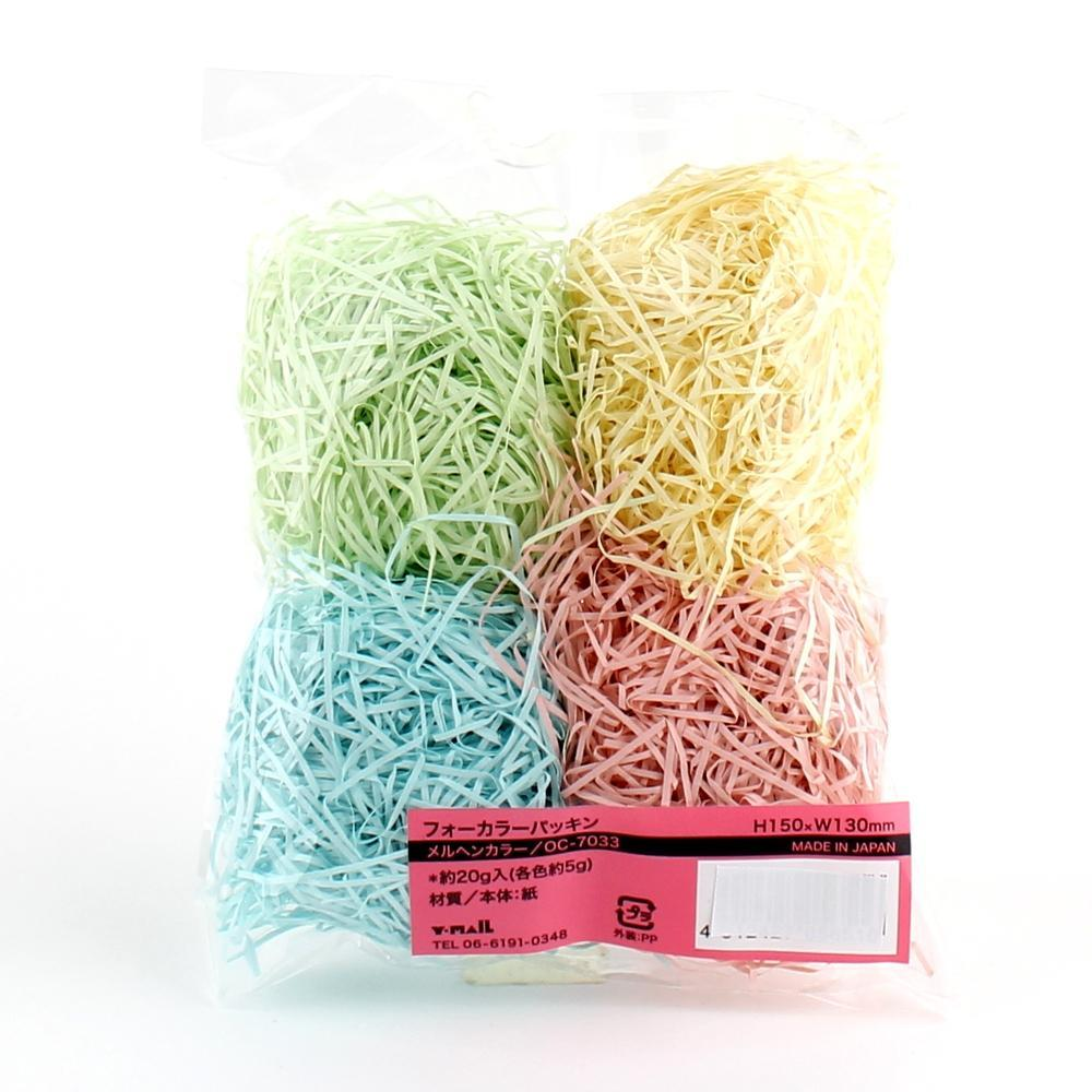Shredded Paper (Gift/4 Colours/H15xW13cm / 20g)