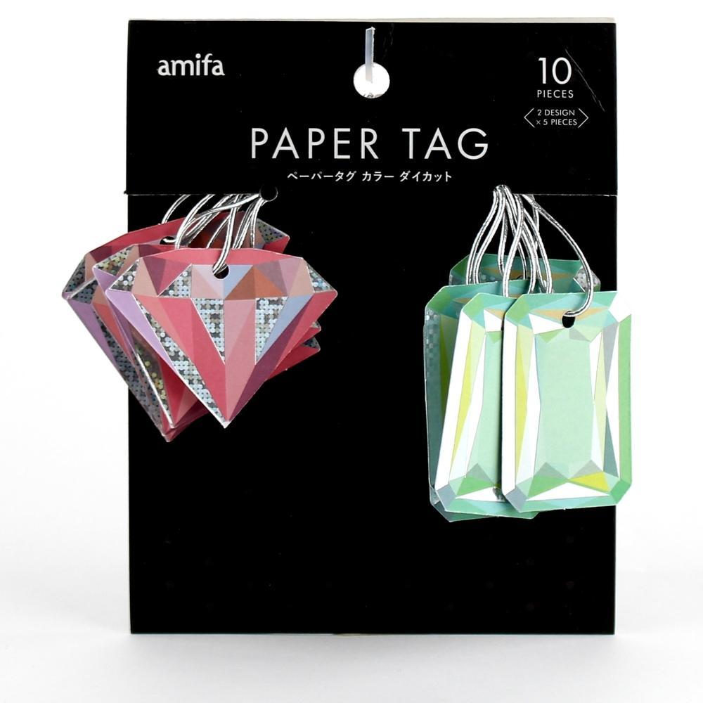 Paper Tags (Gem Stone/4.5x4.5cm (10pcs))