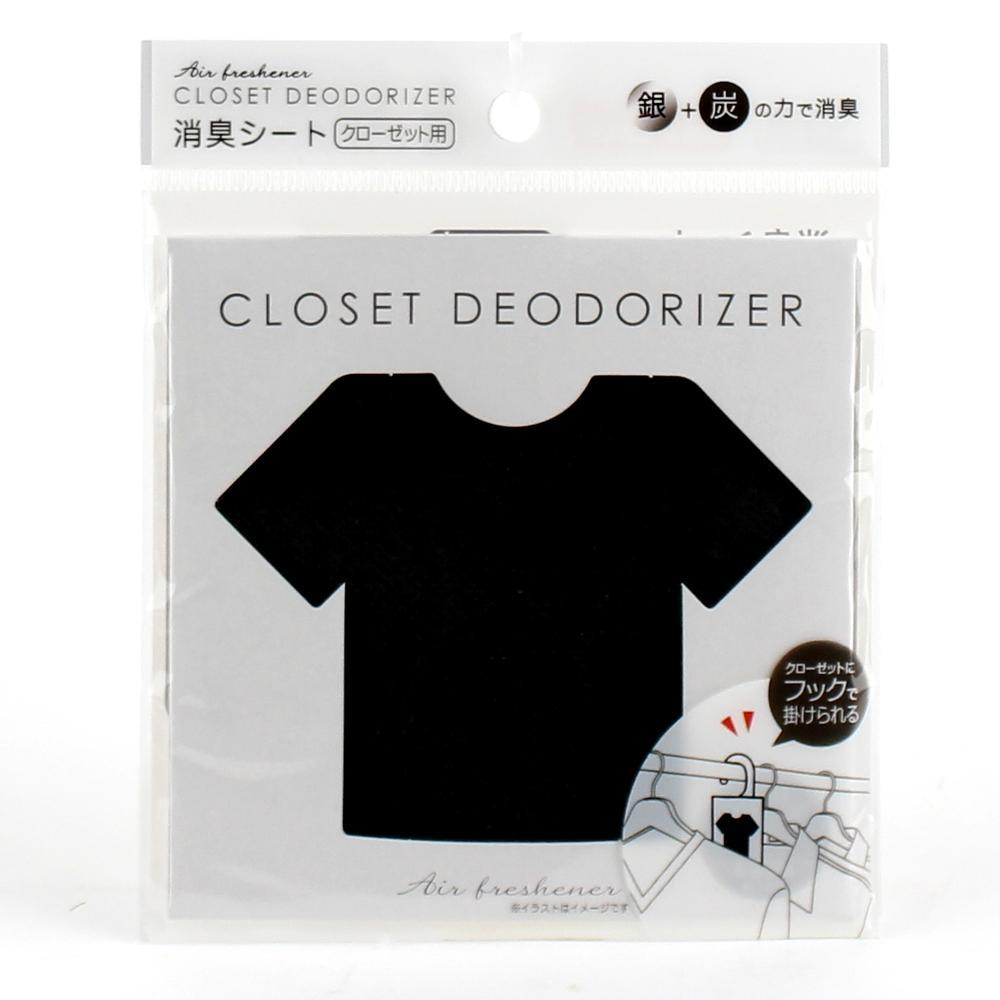 Deodorizer Sheet (With Hook/Closet/T-Shirt)