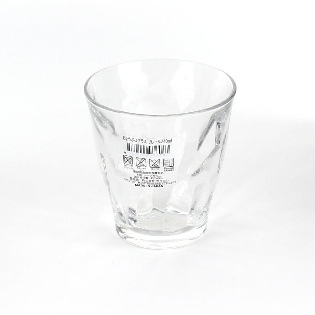 Cup (Glass/CL/8.4x8.8cm / 240mL)