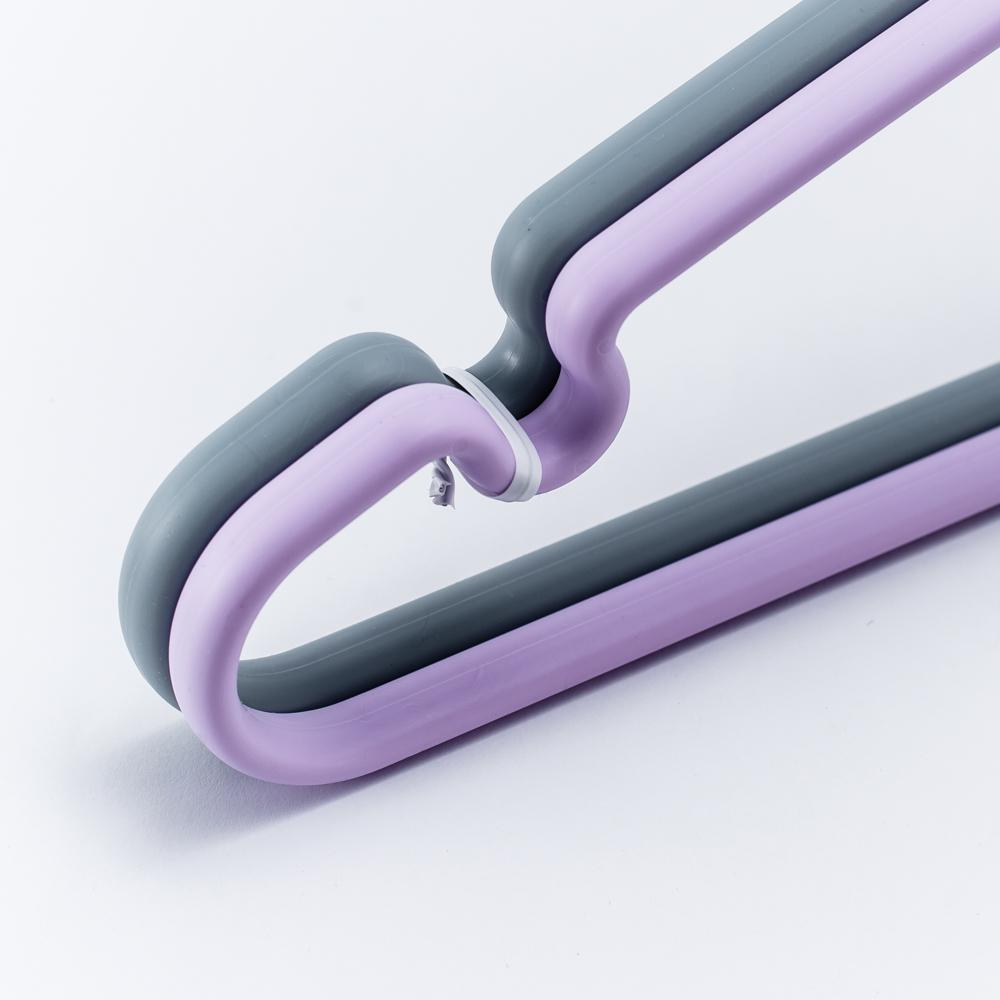 Japanese Clothes Hanger (Purple/Gray)