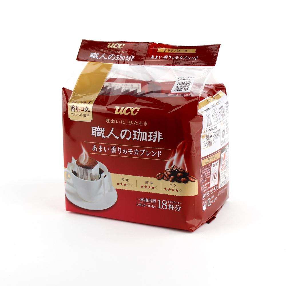 Instant Coffee (Drip Coffee/Mocha Blend/Double Roasted/18 Cups/UCC/126 g)
