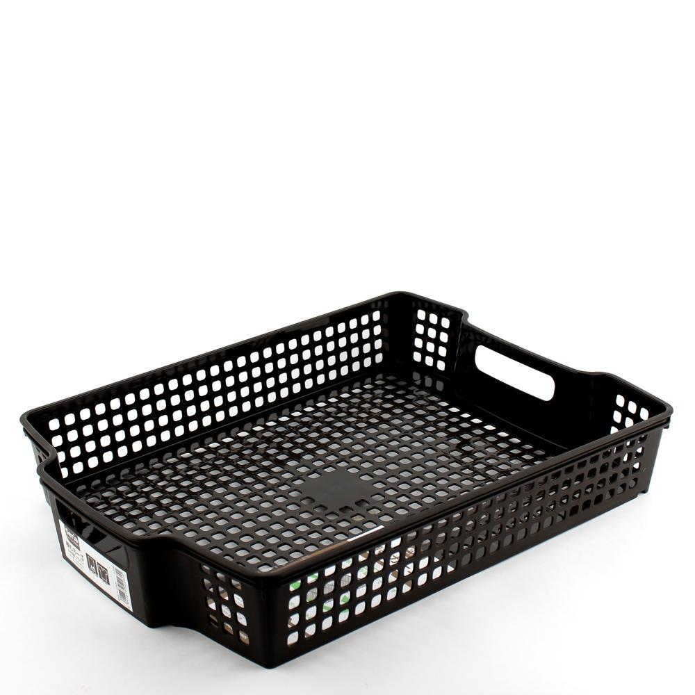 Basket - Stackable (A4*Shallow/BN/38.3x28x6.4cm)
