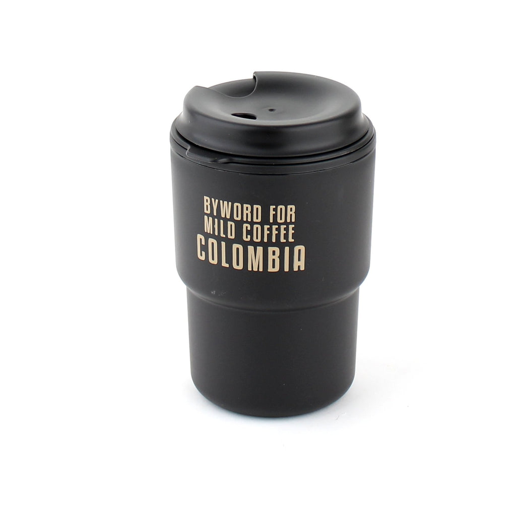 Tumbler (PP/With lid/Words/12.3x8x8.5cm)