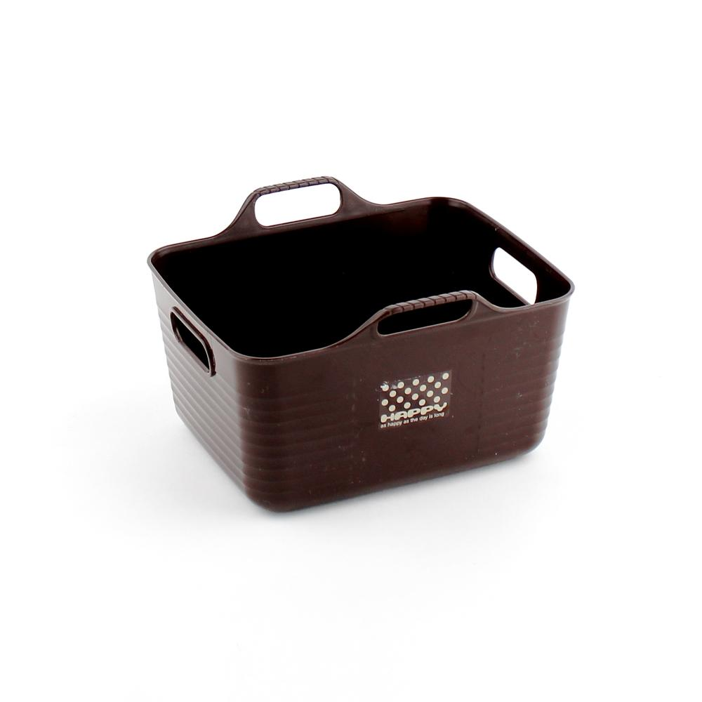 Basket - Mini (w/Handle/BN/13.9x12.3x8.4cm)