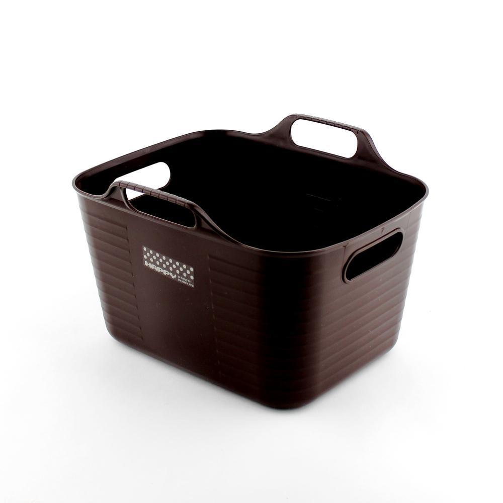 Basket-w/Handle (w/Handle/BN/23.1x19.3x15.2cm)