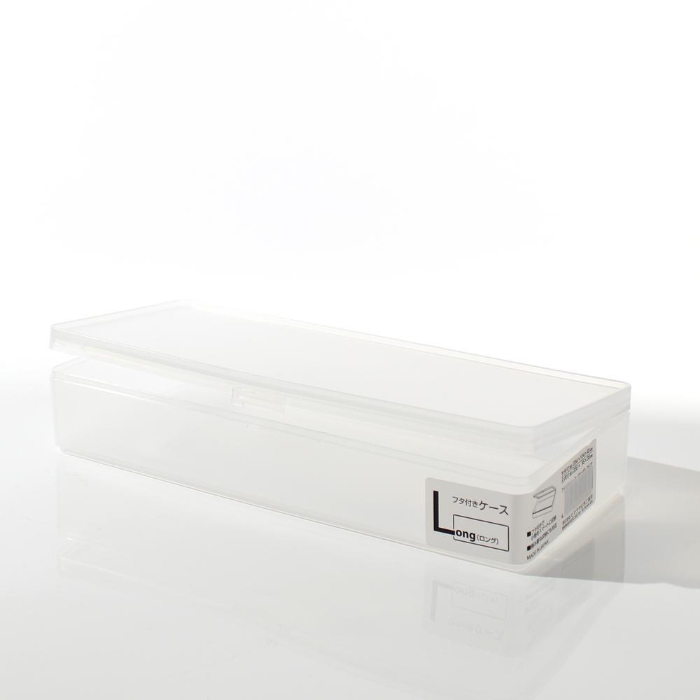 Storage Box (w/Lid*Long/CL/23.4x10.4x4.5)