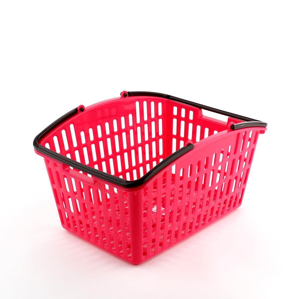 Basket w/ Handle (w/Handle/PK/24.8x18.8x14.1cm)