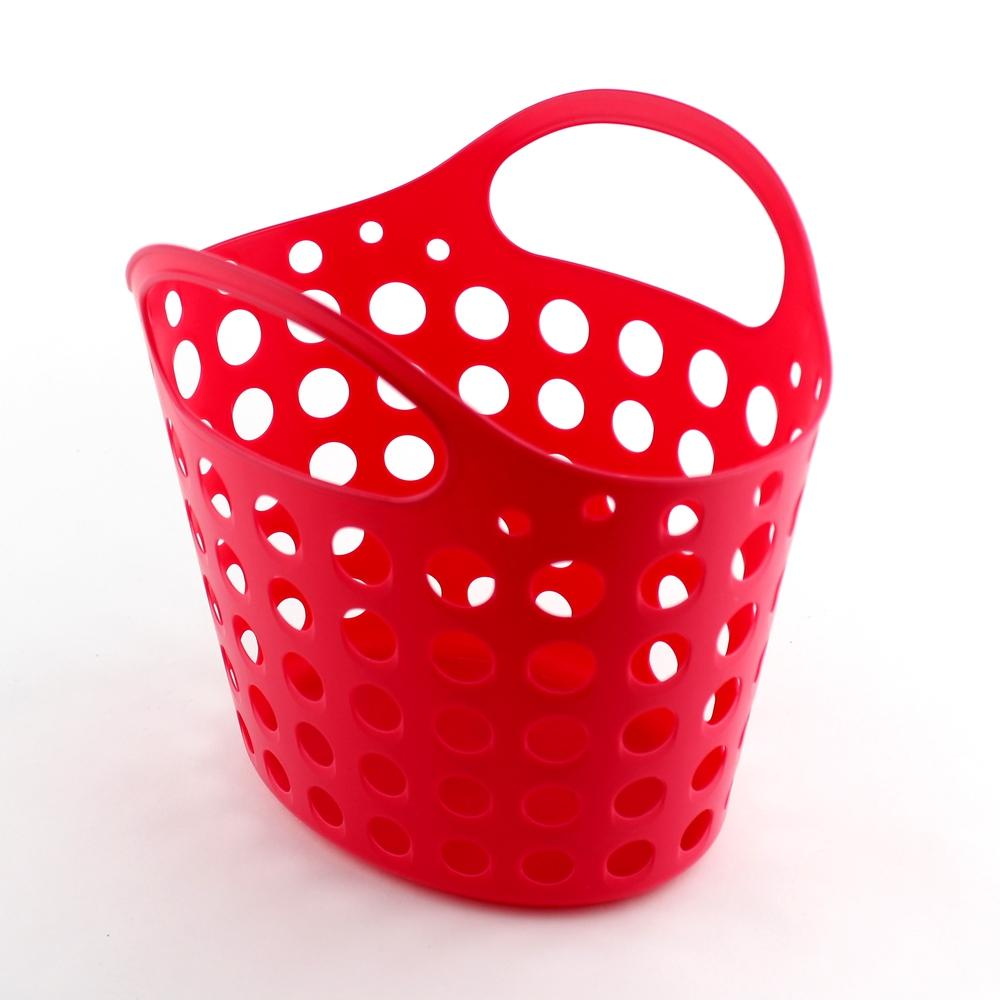 Basket-w/Handle (w/Handle/PK/24.1x20.3x22.5cm)