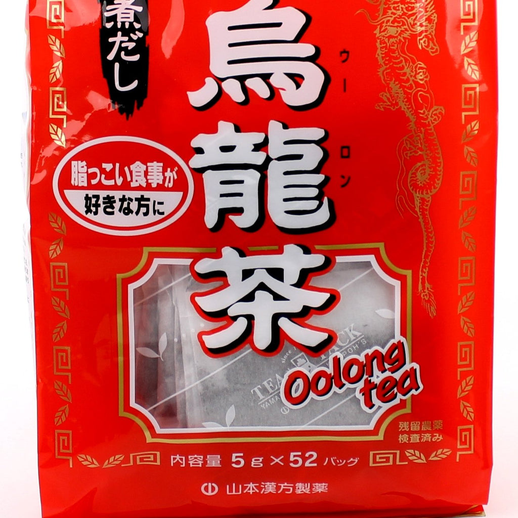Tea Bags (Oolong Tea/Processed In Japan/Roasted Twice/For Cold & Hot/Yamamoto Kanpo/260 g (52pcs))