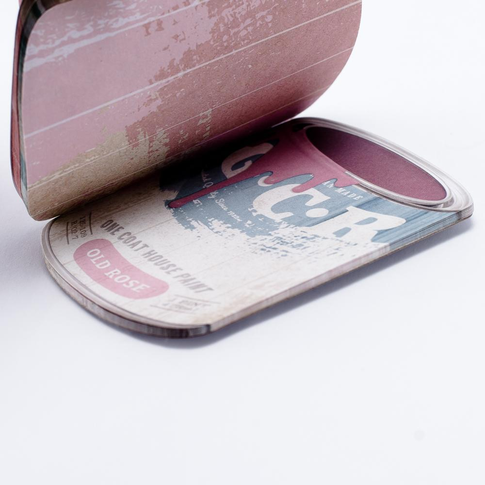 Memo Pad (Paint Can*Vinyl Record)