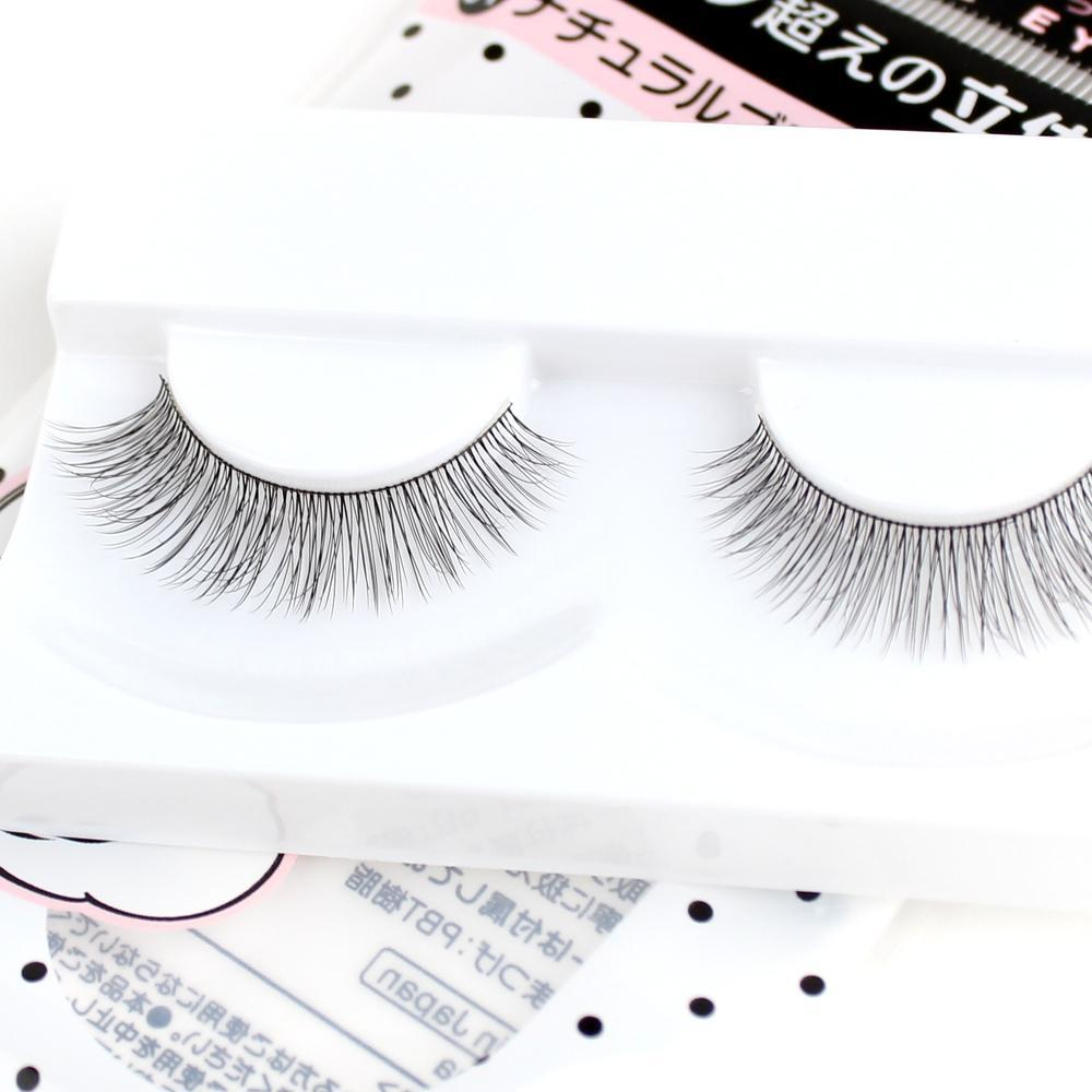 False Eyelashes (01 Natural Black/3x1cm)