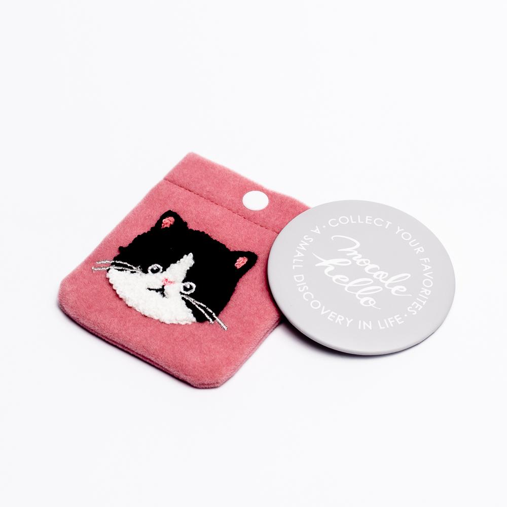 Mirror with Case (Cat)