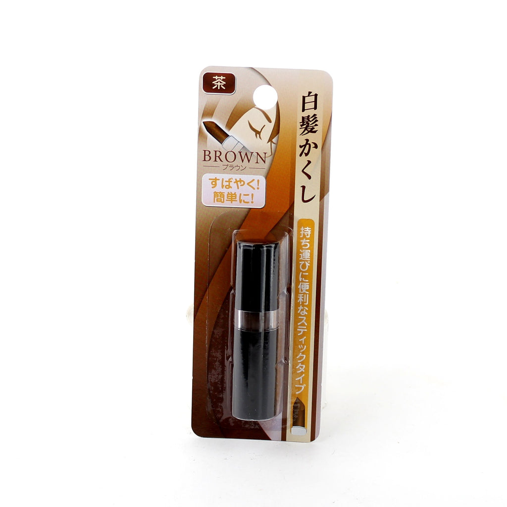 Oomomo Gray Hair Touch Up Stick (Brown)