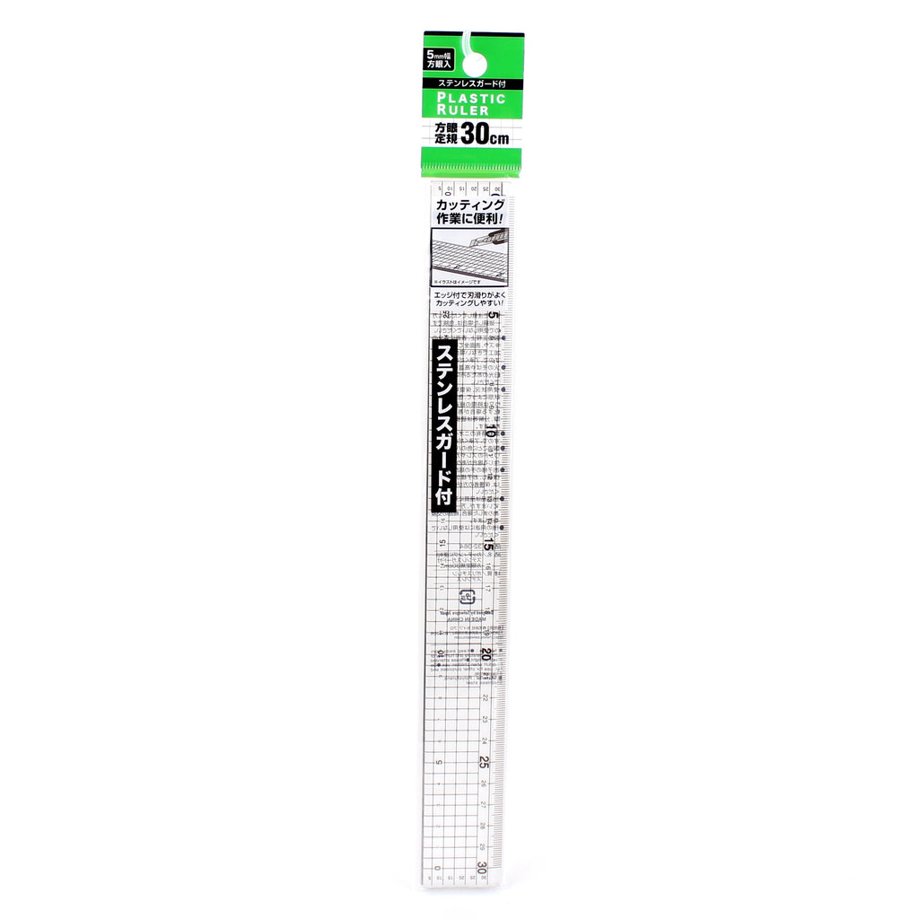 Ruler (Square Grid/CL/30cm)
