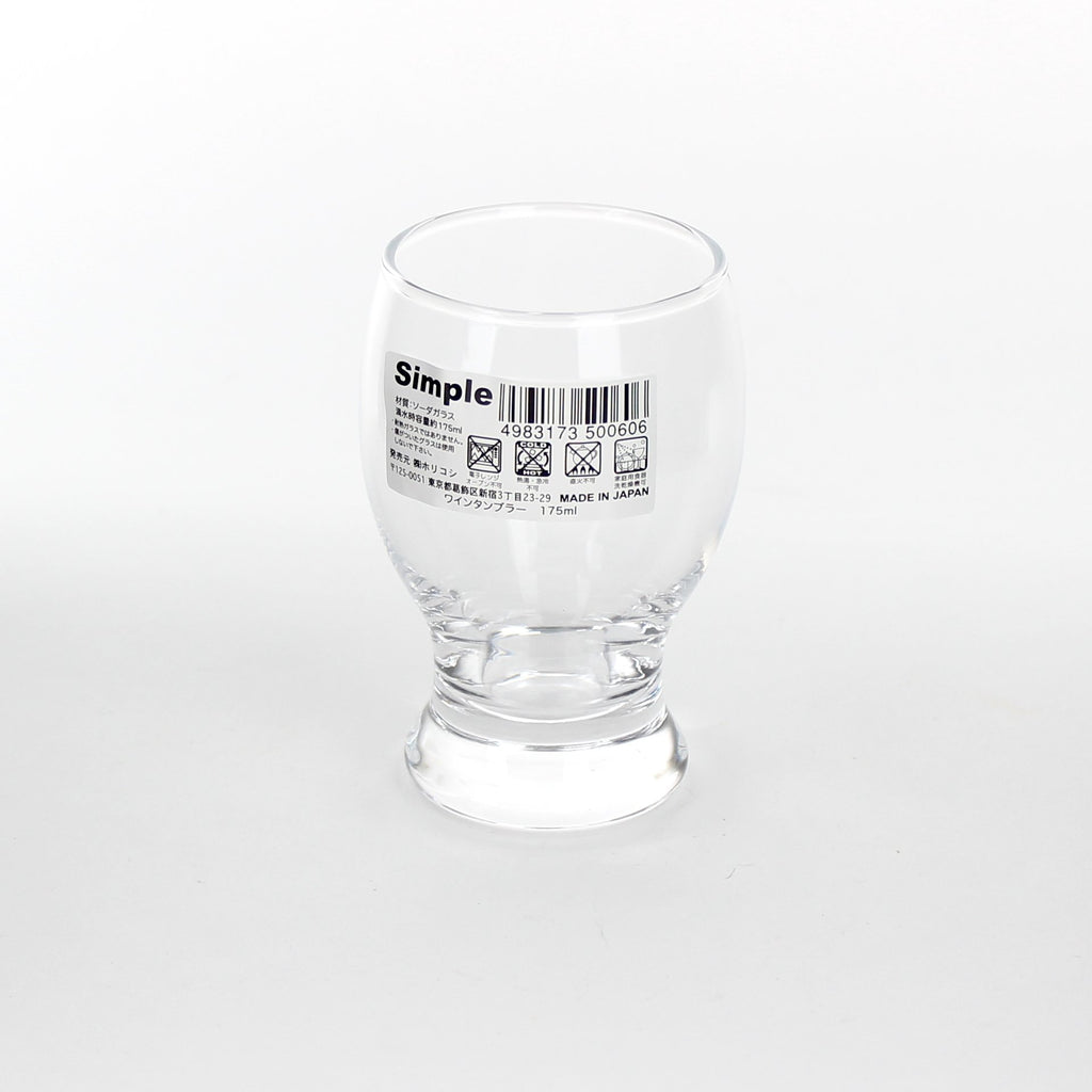 Glass Cup (Round/CL/175ml)