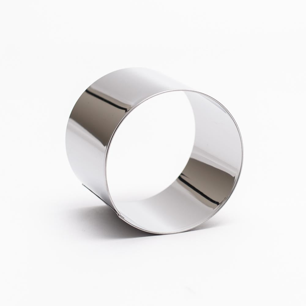 Stainless Steel Cercle Pastry Ring (Round/Silver/Diameter 6xH5.4cm)