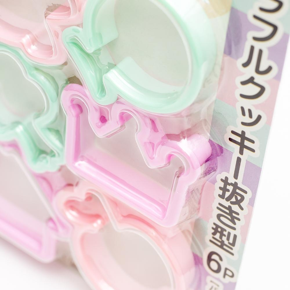 Cookie Cutter (PP/Colorful / 3 Colors / 6pc)