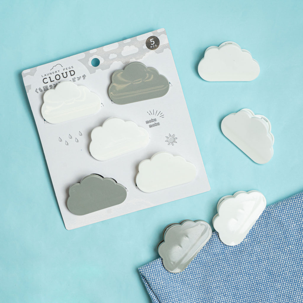 Cloud Cloth Pins