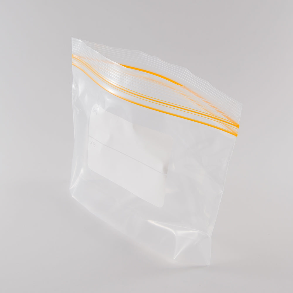 Zipper Bags (Polyethylene/3 Sizes)