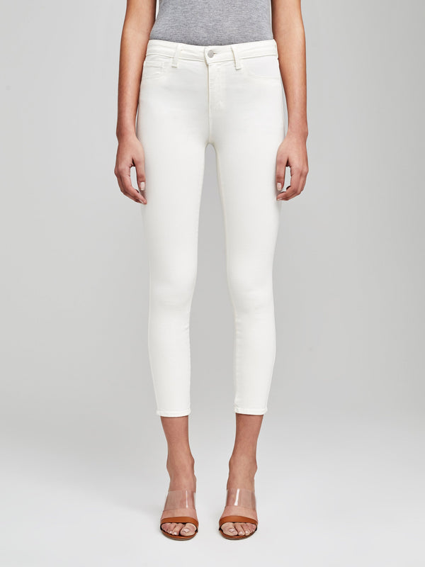 Margot High-Rise Skinny Jean Vintage White