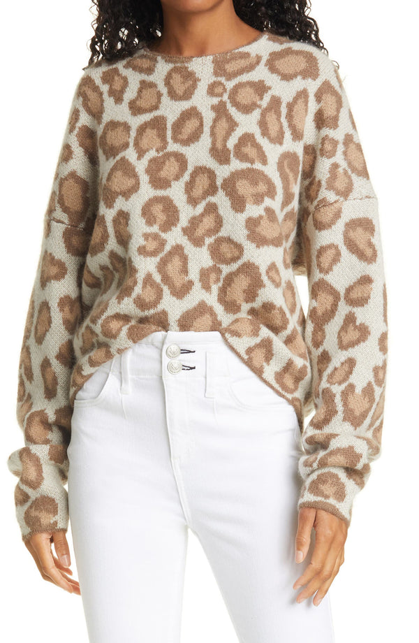Cheetah Crewneck Sweater