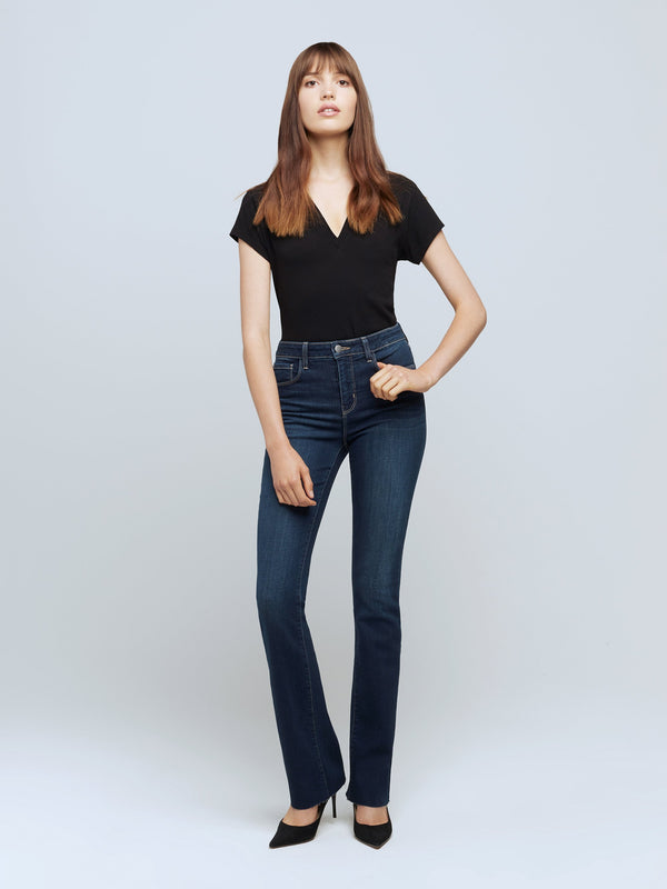 Ruth High-Rise Straight Jean