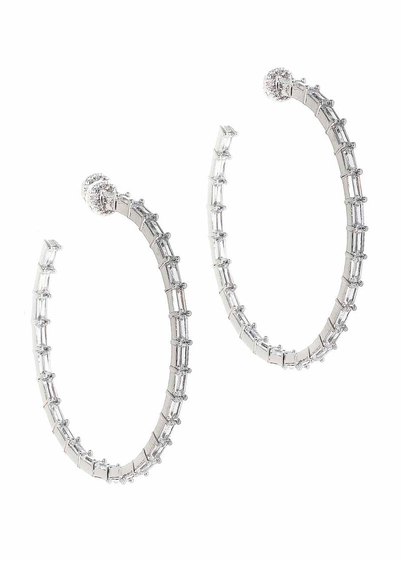Hestia Inside Out Hoop Earrings