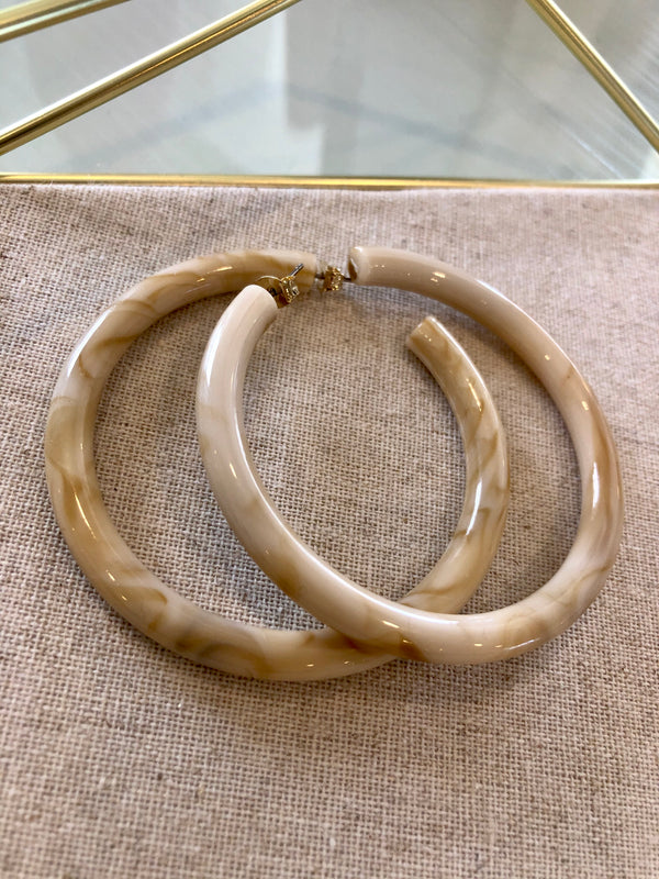 Lea Large Hoop Earrings