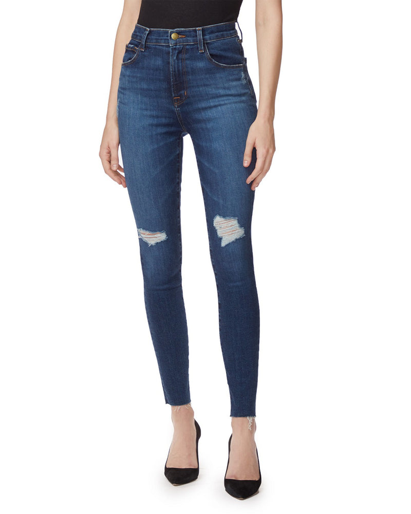 Leenah High-Rise Ankle Skinny