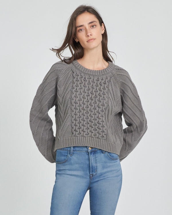 Zuri Fisherman Sweater