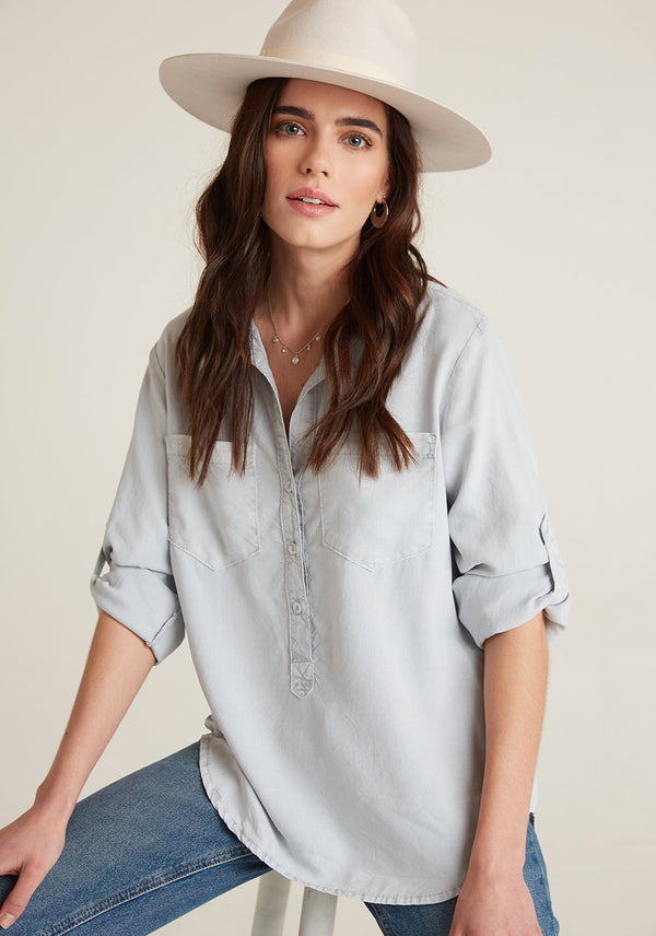 Pullover Placket Shirt