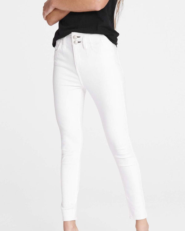 Darted High Rise Skinny