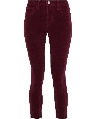 Margot Merlot High Rise Skinny