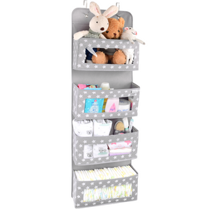 Nursery Over the Door Hanging Organizer