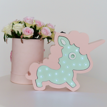 Load image into Gallery viewer, Unicorn Nursery Decor Night Light