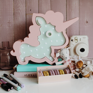 Unicorn Nursery Decor Night Light