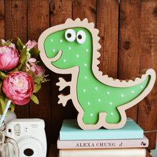 Load image into Gallery viewer, Dino Nursery Decor Night Light