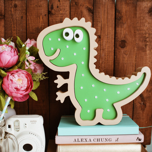 Dino Nursery Decor Night Light