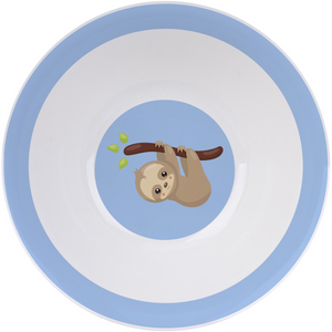 3 Piece Kids Ceramic Dinnerware Set - Sloth