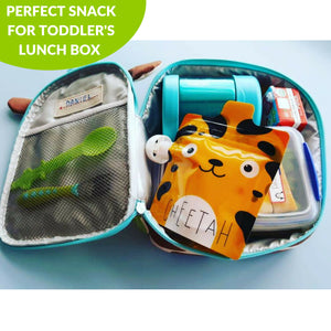 Squeeze Meals® Reusable Food Pouches - Zoo