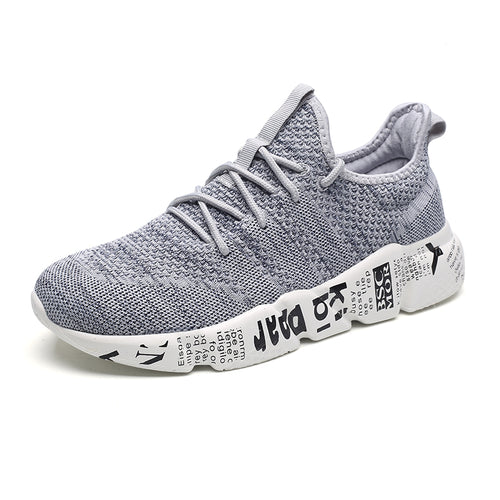 YXB Womens Sports Shoes Sports Shoes Knit Fashion Knitted Breathable Running Shoes Athletic Shoes Training Shoes Gray Pink Black,Gray,37