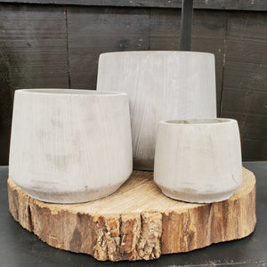 Eloise Cement Pot Cover Collection