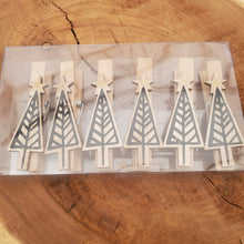 Load image into Gallery viewer, Decor - Holiday Clothes Pin Set