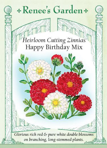 Zinnia Happy Birthday Mix Cutting